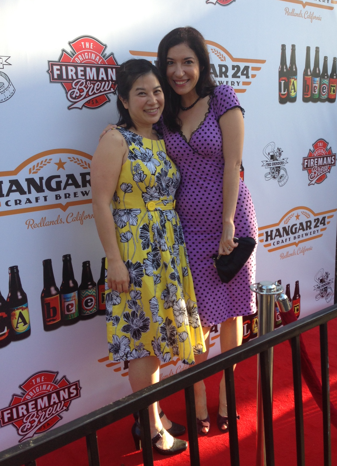 Arianna Ortiz and writer/producer Ali Chen
