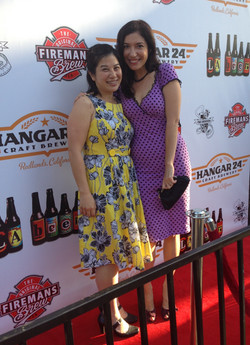 Arianna Ortiz and writer/producer Ali Chen