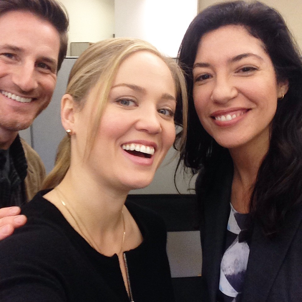 Erika had to school me on how to take a proper selfie :-) . These two are lovely.