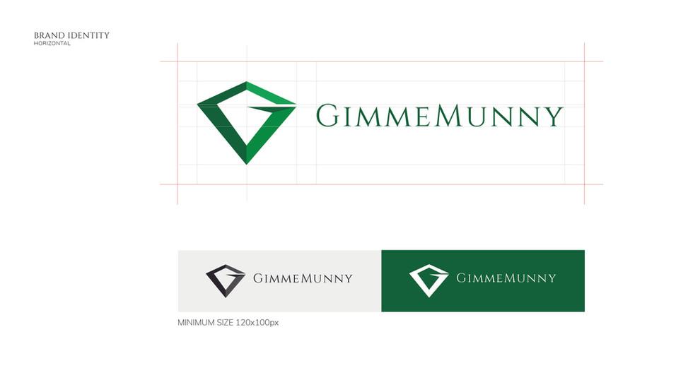 GimmeMunny Official Logo Horizontal