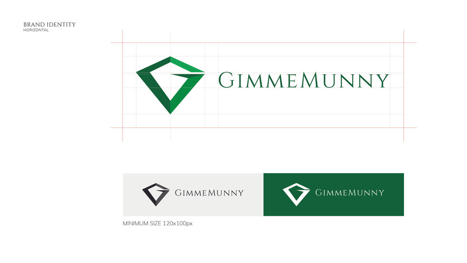 GimmeMunny Official Logo Horizontal