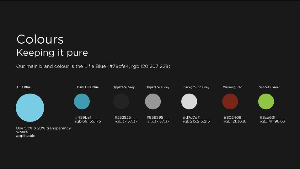 Lifie Colour System