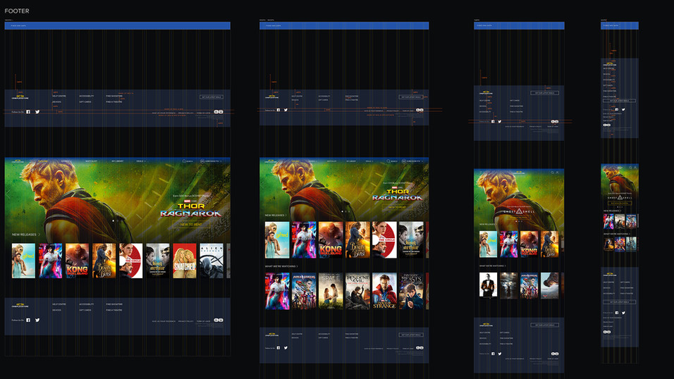 Cineplex Store Footer Guide