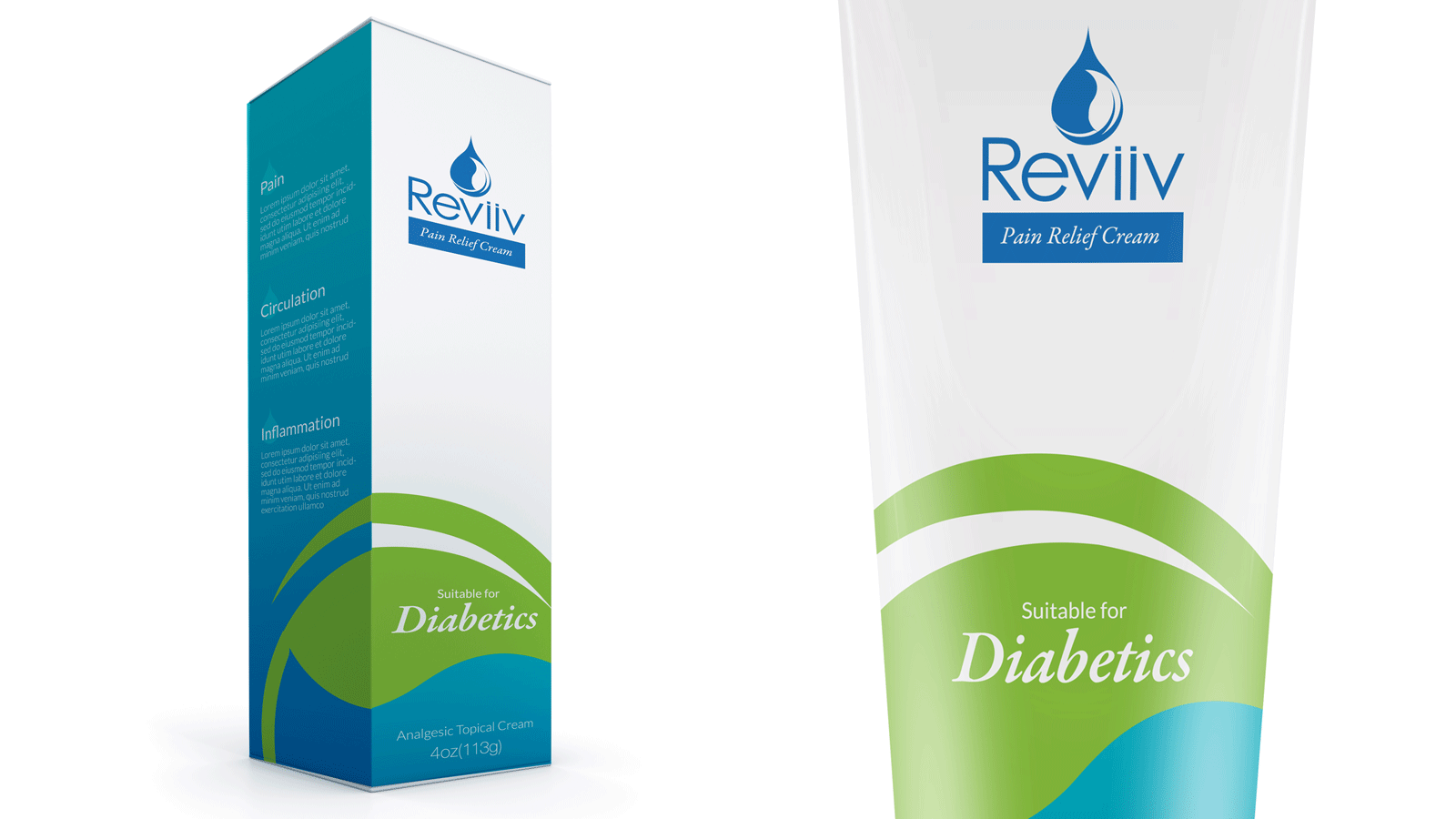Reviiv package design