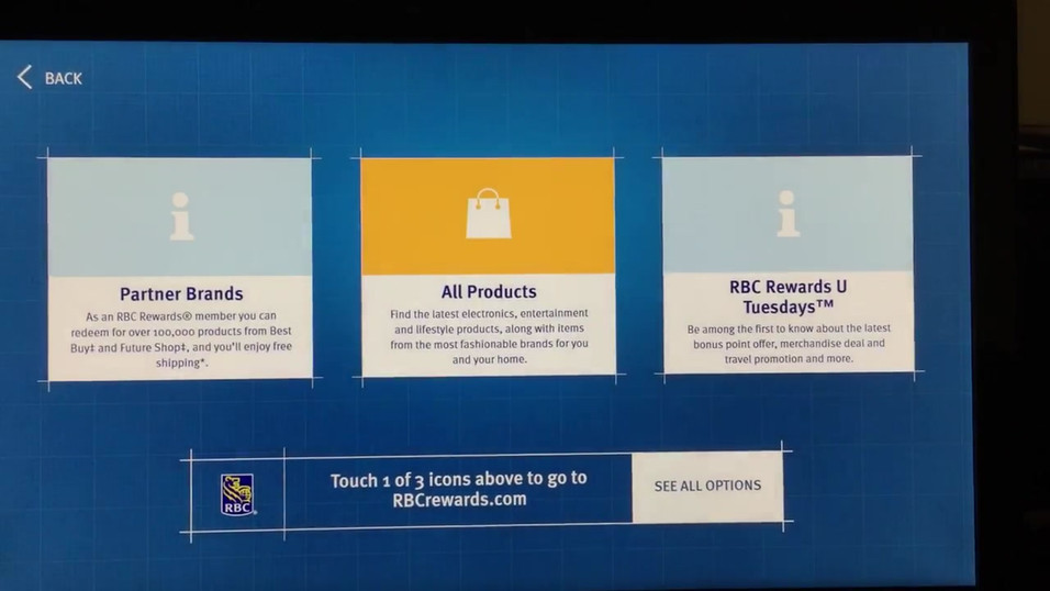 RBC Reward Kiosk - Demo