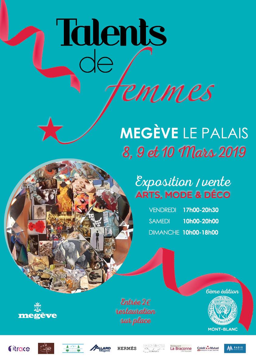 Affiche Talents de Femmes 2019 - Megève