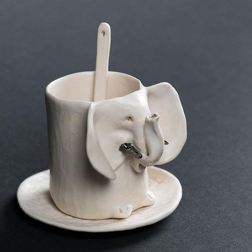 Tasse à café Éléphant