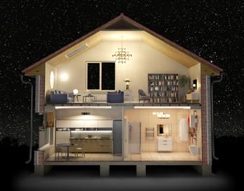 Inside home. Interior Design. Spaces.