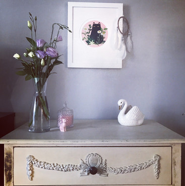 Bedroom, Decor, Print