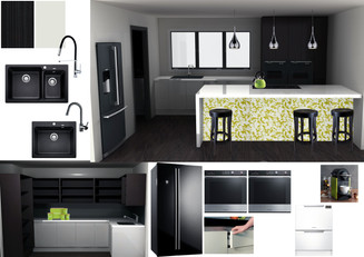 Ideas Mood Board Kitchen