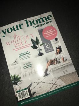 Your Home and Garden. Magazine. Kitchen Awards.