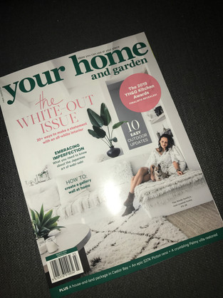 Your Home and Garden. Magazine. Kitchen Awards.
