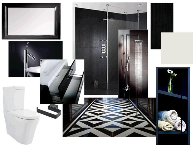 Ideas Mood Board Bathroom