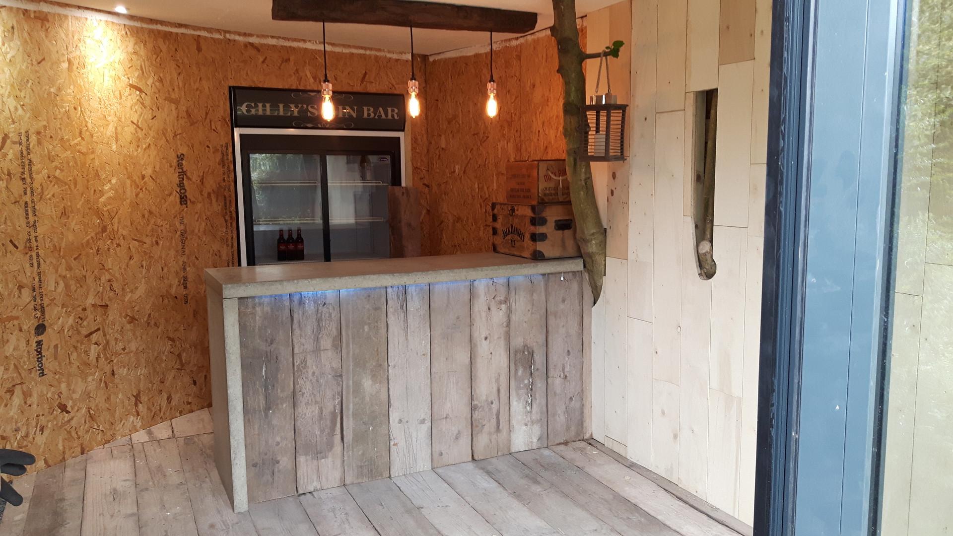 Interior of Gin Bar | Garden Room