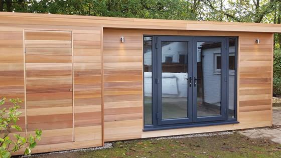 Garden Studio with Built in Store