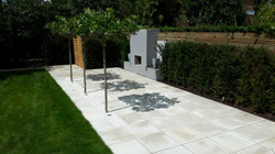 Great outdoor fireplace Manchester
