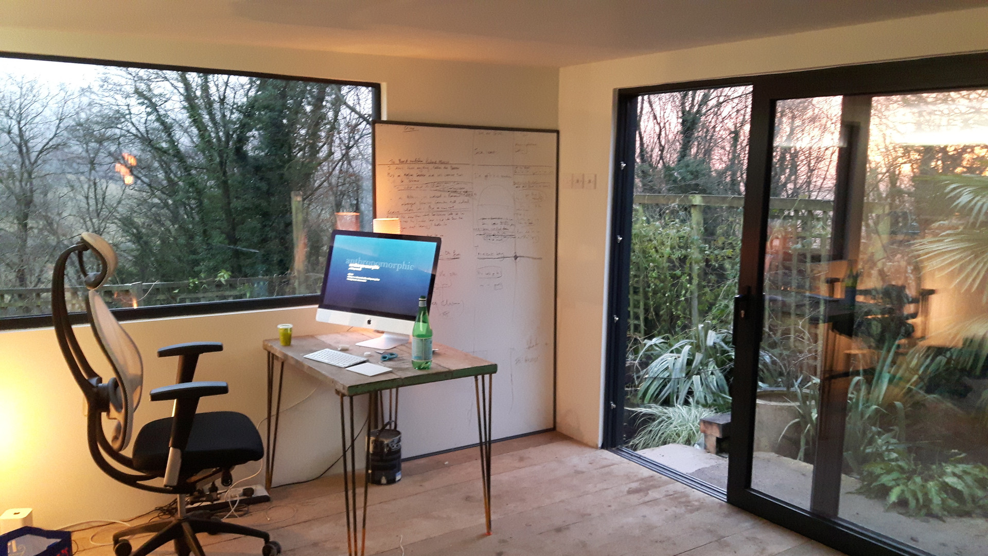 Interior of Garden Office | Cheshire