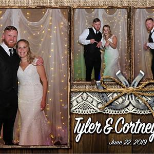 Cortney & Tyler Knox Wedding
