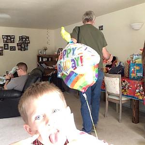 Mason's First Birthday Party