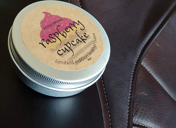 Raspberry Cupcake Leather Balm