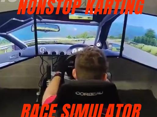 NonStop Karting Ireland Has A Race Simulator.