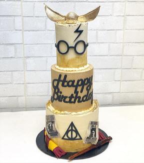Harry Potter Cake Magic ⚡️ #showboybakes