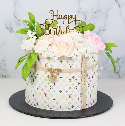 Louis Vuitton Cake Couture 💗 #showboyba