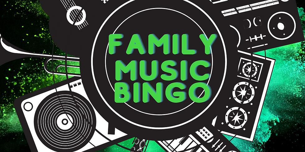 Family Music Bingo