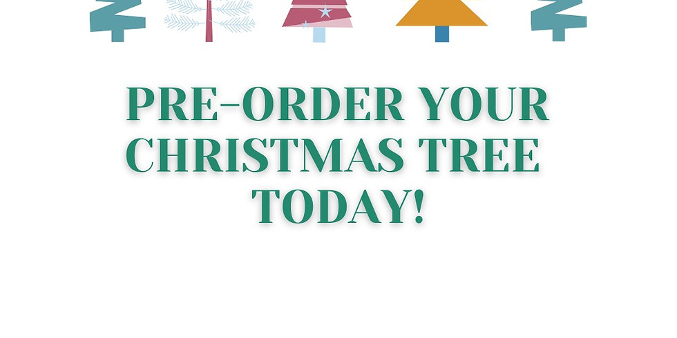 Pre-order your Christmas Tree