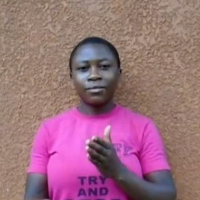 Introducing Esther from RWANDA (Deaf Dreamer #11)!
