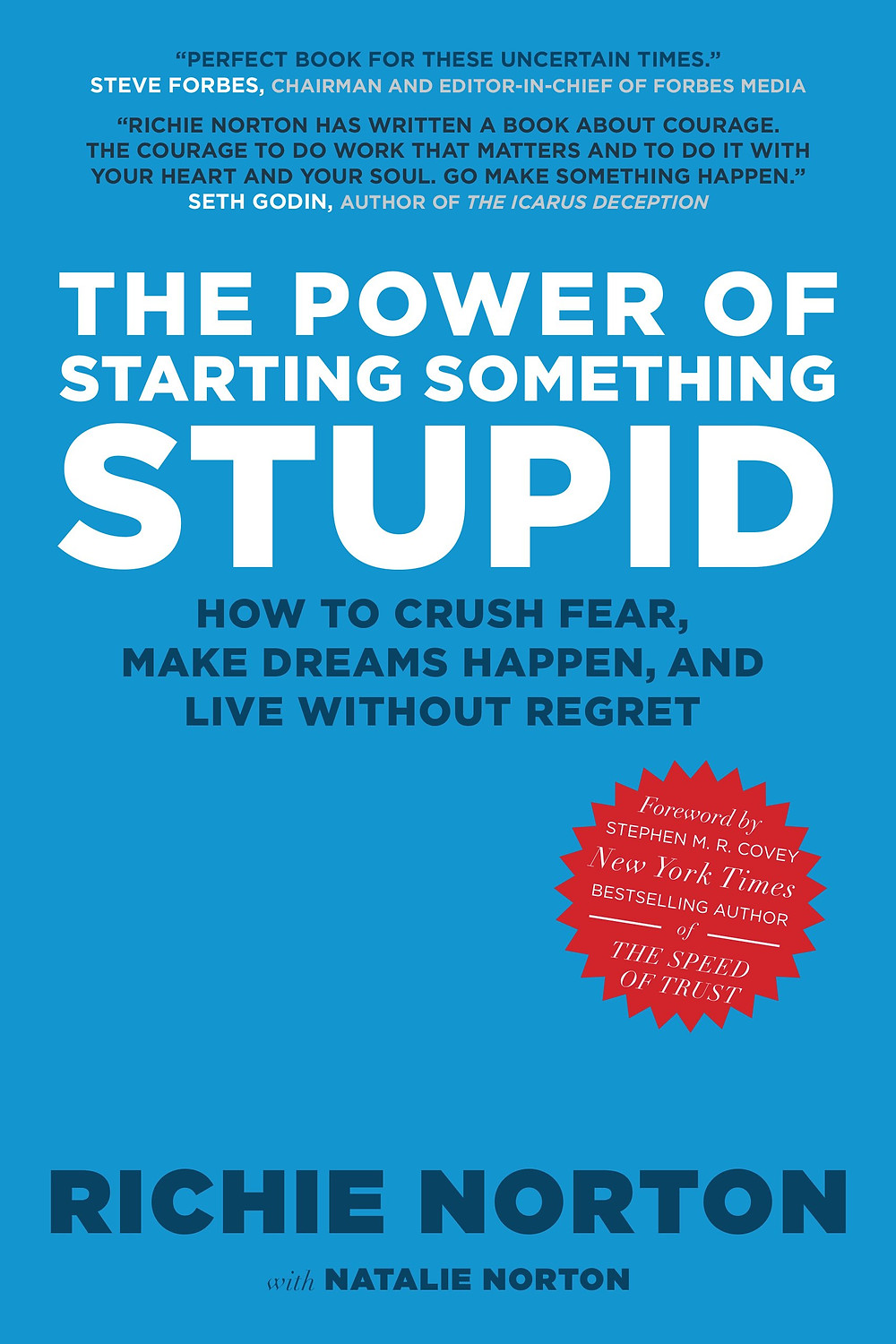 Richie Norton. The Power of Starting Something Stupid. Amazon. Inspiration for Projects. Destiny Yarbro.