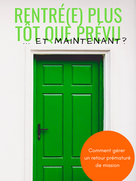 Home Early...Now What? Book Cover in French