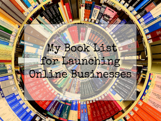 My Recommended Book List for Online Business Launchers