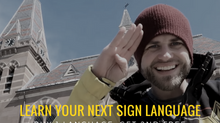 Time to learn your next sign language...