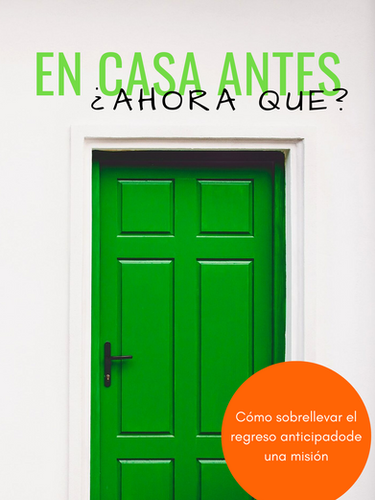Home Early...Now What? Book Cover in Spanish