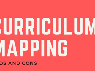 The Pros and Cons of Curriculum Mapping for the Language Classroom (Infographic)