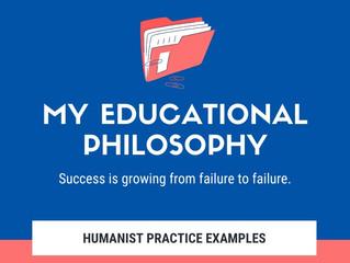 My Educational Philosophy: Humanist, Progressivist, Social Reconstructivist Practices (Infographic)
