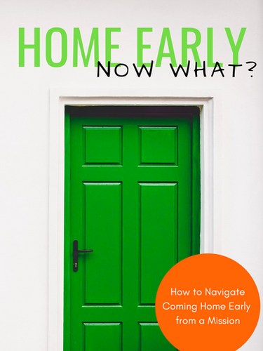 Home Early...Now What? Book Cover in English