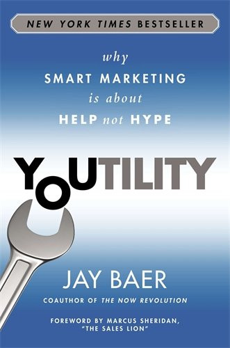 Youtility Amazon book cover. Jay Baer. Destiny Yarbro blog. Daily inspiration for online projects.
