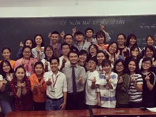 UPDATE: Khiem taught 56 hearing university students!