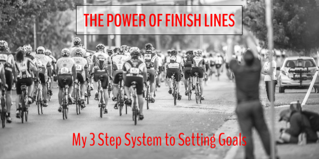 Click to read: The Power of Finish Lines. Destiny Yarbro blog.