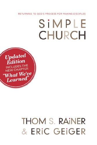 Simple Church. Thom S Rainer. Eric Geiger. Amazon Cover. Destiny Yarbro. Daily Inspiration for Online Projects
