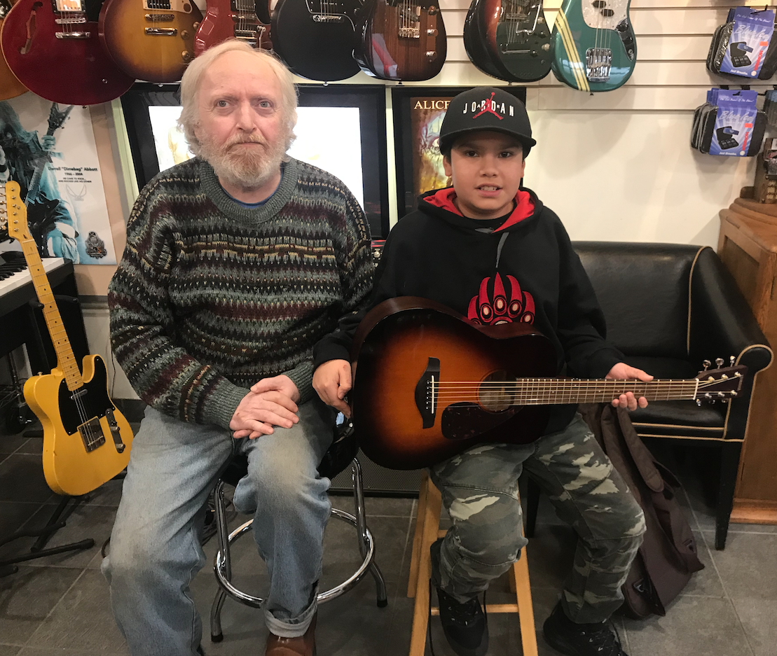 Isaiah and Lawrie Westcoast Guitars