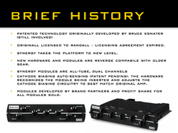 Synergy Amps Brief History