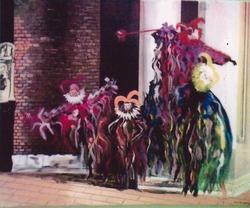 """Jozsef Burge """" Carnival """""""