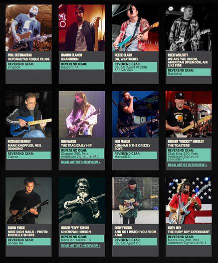 Canada Dealer For Reverend Guitars 604 682 4422