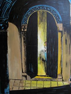 """Jozsef Burge """" The Door """""""
