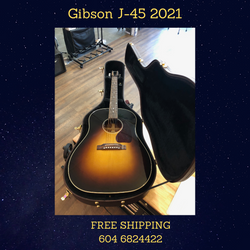 Gibson J-45 2021 Just In
