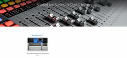 StudioLive Series III Digital Mixers