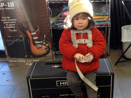 It is never to early to ROCK ! at      Westcoast Guitars !